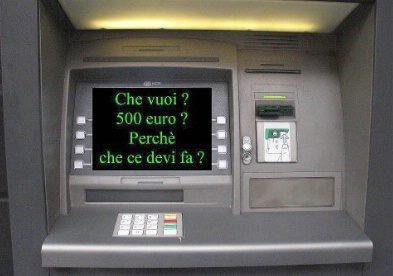 Банкомат Италия