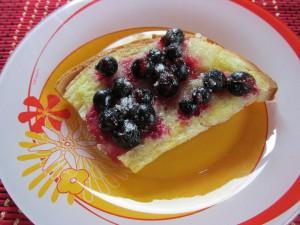 ягодные пирожные