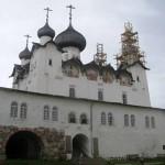 Спасо-Преображенский собор Соловецкого монастыря.