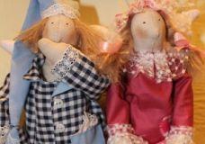 Немного о подарках в стиле Декупаж и куклах Тильда