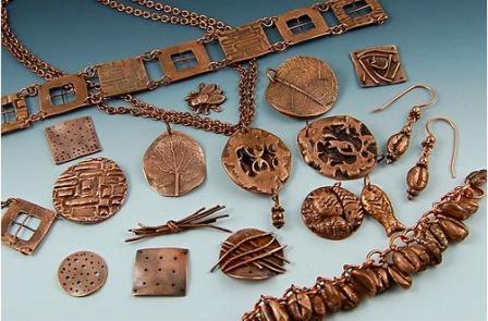 ювелирные украшения из металлической глины