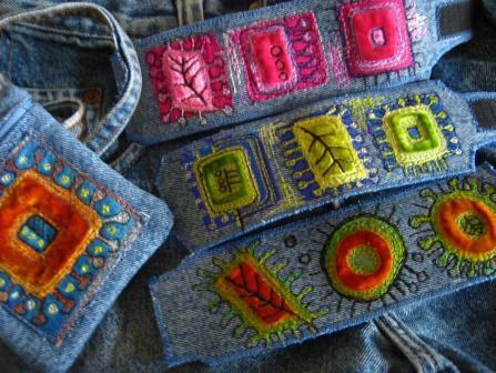 Арт текстиль от Джеки Карди ( Jackie Cardy)