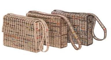 эко-сумки из переработанных газет от Green Veranda