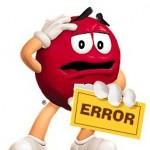 Грубые ошибки начинающего блоггера