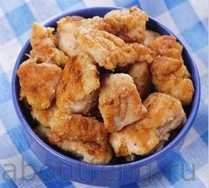 рецепт китайской кухни - курица со специями