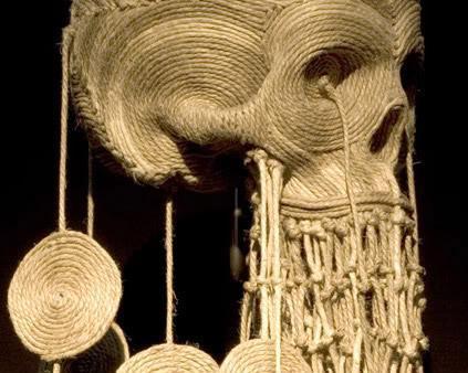 Веревочные черепа от Джима Скула (Jimm Skull)