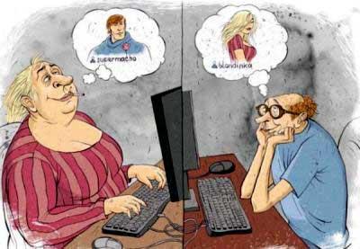 Знакомимся через интернет