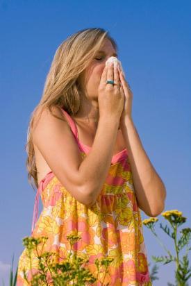 Аллергия на пыльцу - весенний кошмар.