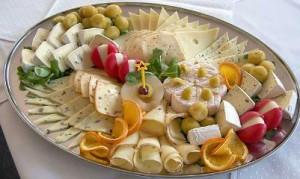 Идеальная сырная тарелка
