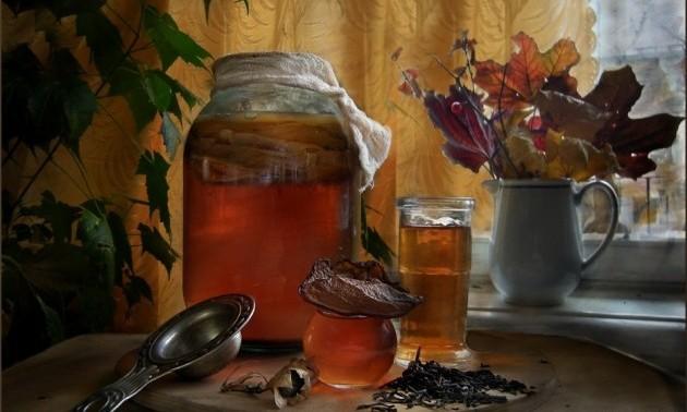 Чем полезен чайный гриб?