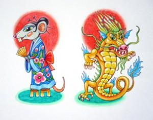 Легенда о 12 животных Восточного календаря