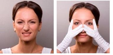 упражнения для носа