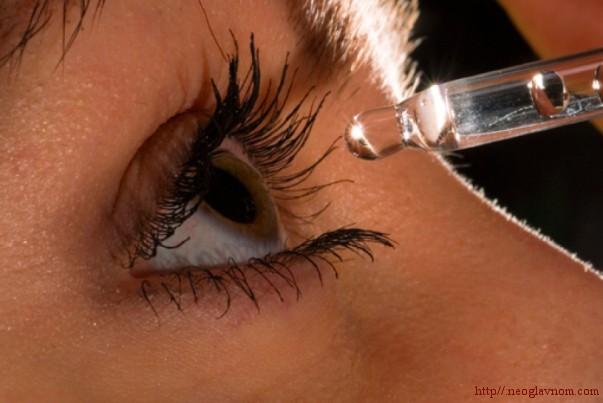 Народные средства от слезоточивости глаз