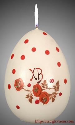 Как украшать пасхальные яйца