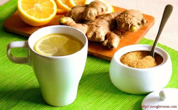 диета имбирный чай