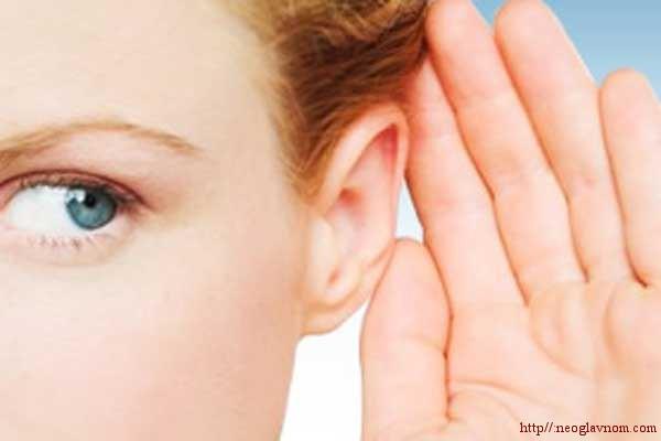 лечение слуха народными методами