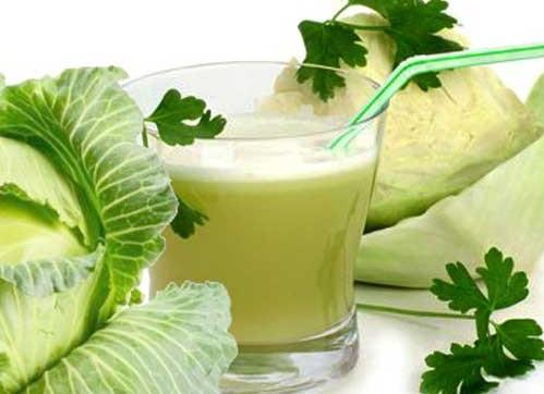 лечение соком капусты