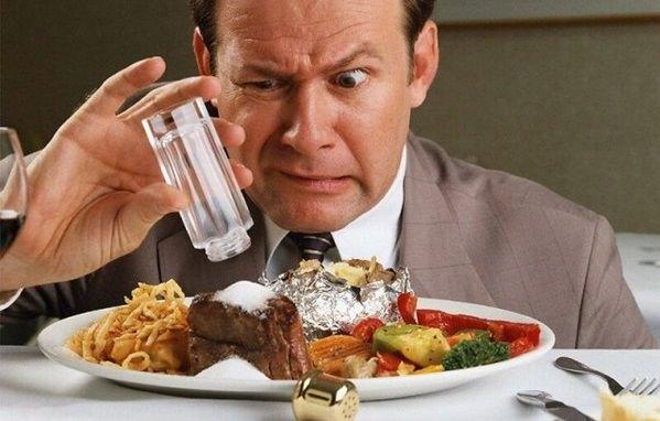 вред пищевой соли